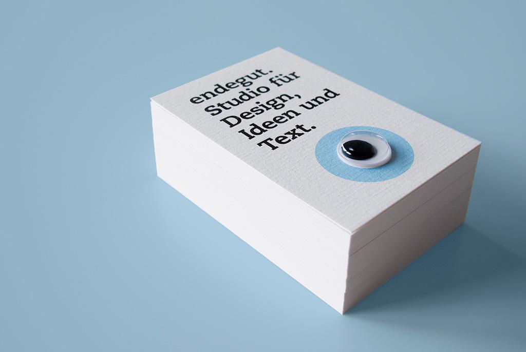 Visitenkarten Endegut Endegut Studio Für Design Ideen
